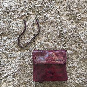 Banana Republic Leather Mini Crossbody Bag
